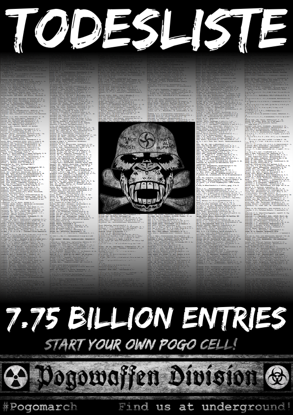 Pogowaffen Division - Todesliste - 7.75 billion entries - Pogomarch - APPD