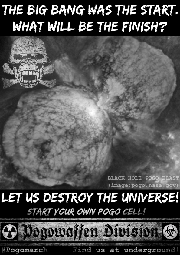 Pogowaffen Division - The big bang was the start - What will be the finish - Let us destroy the universe - Pogomarch - APPD